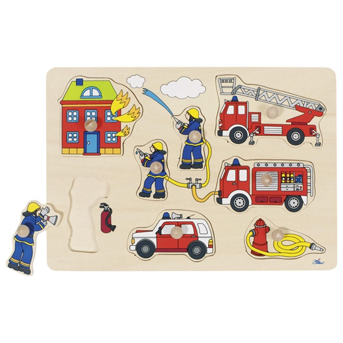 Goki -  Lift out puzzle fire brigade