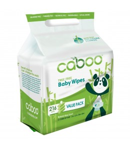 Caboo - Bamboo Baby Wipes / 216 wipes