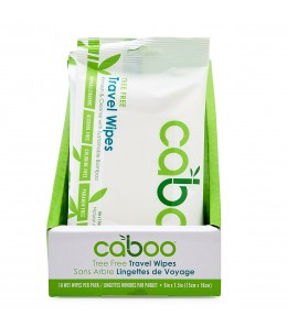 Caboo - Bamboo Travel Wipes / 24 pc tray