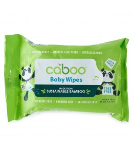 Caboo - Bamboo Baby Wipes / 30 Wipes