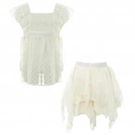 Paad Mode - Top and Skirt Set
