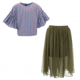 Paade Mode - Top and Skirt