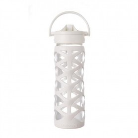 Lifefactory  - 16oz Axis Straw Cap OPTIC WHITE
