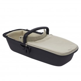 Quinny - Zap LUX CarryCot SAND ON GRAPHITE