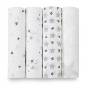 Aden+Anais - Classic 4-Pack Swaddles Twinkle