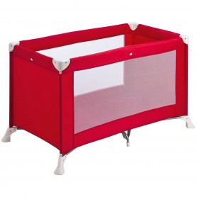 Safety 1st  - Soft Dreams Travel Cot Red Lines