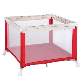 Safety 1st - Circus Playpen red Lines