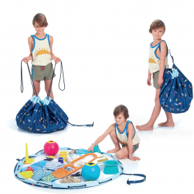 Play & Go - Playmat & Storage Bag-Outdoor Surf