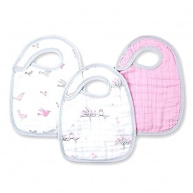 Aden+Anais - Classic 3-Pack Snap Bibs For the Birds