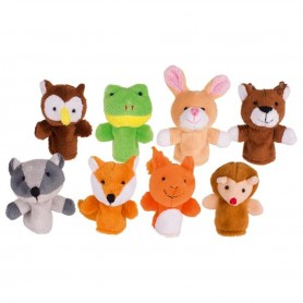 Goki - Finger puppet set forest animals