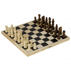 Goki - Chess game in plywood cassette