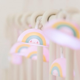 A Little Lovely - String lights Rainbows