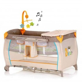 Hauck - Baby Center-Bear Travel Bed