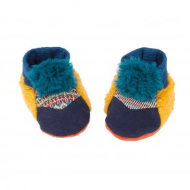 Moulin Roty - Baby slippers 0-6M