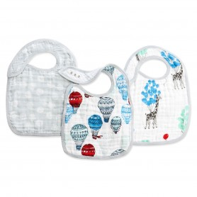 Aden+Anais - Classic 3-Pack Snap Bibs Dreamride