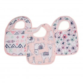 Aden+Anais - Classic 3 Pack Snap Bibs Trail Blooms