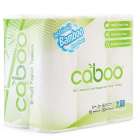 Caboo - Kitchen Roll Towels 6-Pack
