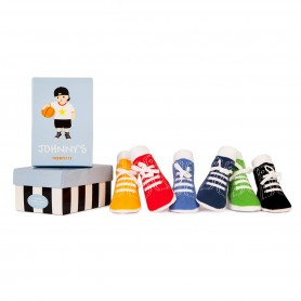 Trumpette - Johnny's Socks,12-24 Months, 6 Pack
