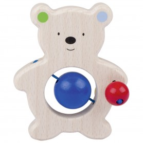 Heimess - Touch ring bear with pearls