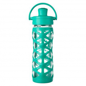 Lifefactory  -  16oz Active Cap AQUATIC GREEN