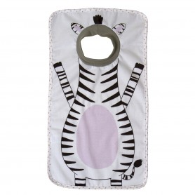 Little Champions - Big Bib Zebra