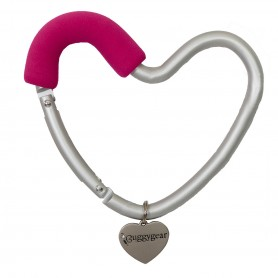 BuggyGear -  Heart Shaped Stroller Hook