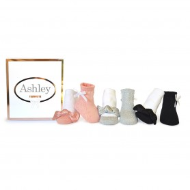 Trumpette - Ashley Socks, 0-12 Months, 6 Pack