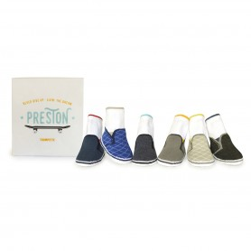 Trumpette - Preston Socks, 0-12 Months, 6 Pack