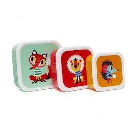 Petit Monkey - Lunchbox Set Animals
