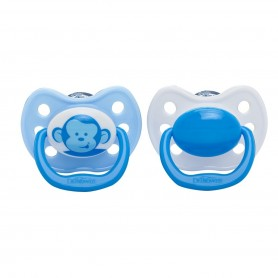 Dr Brown's - Blue Monkey Pacifiers