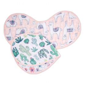 Aden+Anais - Classic 2-Pack Burpy Bibs Trail Blooms