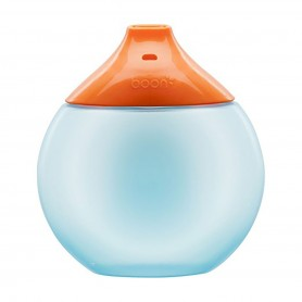 Boon - Fluid Sippy Cup-Blue/Orange