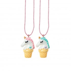 Pop Cutie - BF Unicorns Necklace