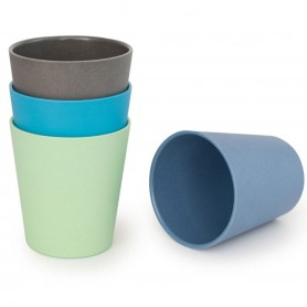 Bobo&Boo -  4 Pack of Cups-COASTAL
