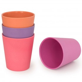 Bobo&Boo - 4 Pack of Cups-SUNSET
