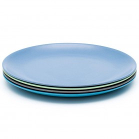 Bobo&Boo - 4 Pack of Dinner Plates-COASTAL