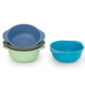 Bobo&Boo - 4 Pack of Snack Bowls-COASTAL