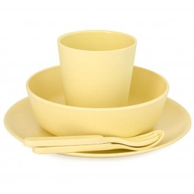 Bobo&Boo - Dinnerware Set-SUNSHINE YELLOW