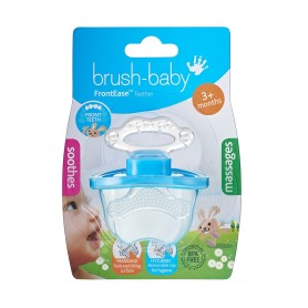 Brush Baby - Front Ease Teether-Blue