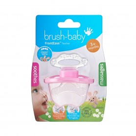 Brush Baby - Front Ease Teether-Pink