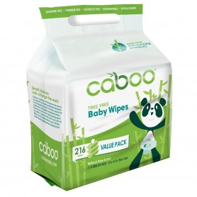 Bamboo Baby Wipes / 216 wipes