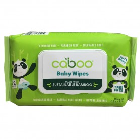 Bamboo Baby Wipes / 72 Wipes