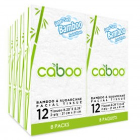 Caboo - Pocket Facial Tissue 8-Pack