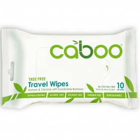 Bamboo Travel Wipes / 10 wipes