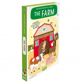 Sassi Junior  - Book & Puzzle Farm