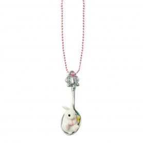Pop Cutie - Chocolate Bunny Necklace