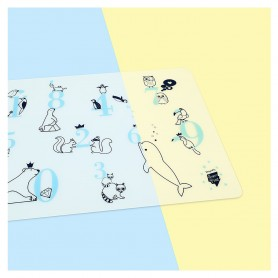 Super Petit -  Silicone Placemat-Learn To Count