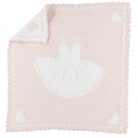 Barefoot Dreams - Cozy Chic Scalloped Receiving Blanket