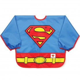 Bumkins - Costume Sleeved Bib-Superman