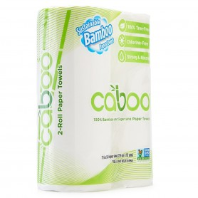 Caboo - Kitchen Roll Towels 2-Pack
